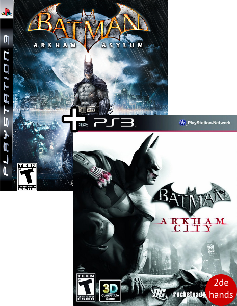 Batman Arkham Asylum + City PS3