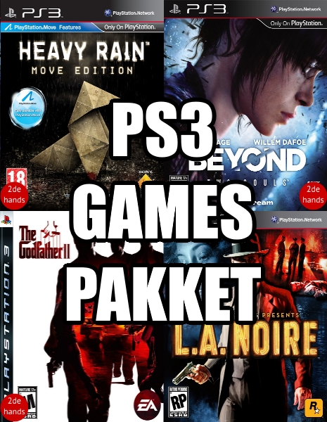 PS3 games pakket